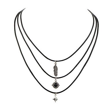 Női Divat Rövid nyakláncok Ékszerek Gyanta Ötvözet Rövid nyakláncok , Esküvő Parti Napi Hétköznapi
