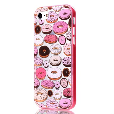 Mert iPhone 7 tok / iPhone 6 tok / iPhone 5 tok Átlátszó / Minta Case Hátlap Case Gyümölcs Puha TPU AppleiPhone 7 Plus / iPhone 7 /