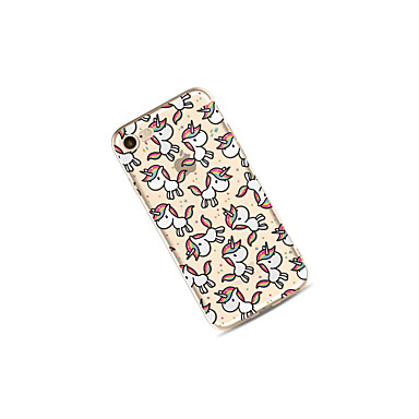 TPU Traslucido X iPhone Unicorno Morbido per 8 Per Apple iPhone 8 iPhone iPhone Plus Plus 8 05373191 disegno iPhone Per retro Fantasia Custodia iPhone X 7 nzZxHaHq