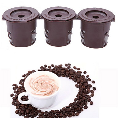 Plastic Coffee Basket 3pcs Coffee Filter / Daily