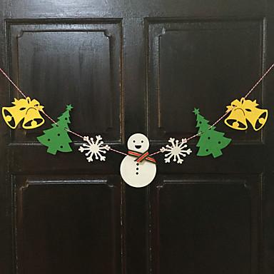 2m 길이 크리스마스 장식 선물 링 지팡이 벨 크리스마스 선물 크리스마스 트리 장식품을 ofing 역할을 행동 중지