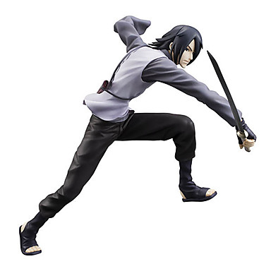 Rysunki Anime akcji Zainspirowany przez Naruto Itachi Uchiha 20 CM Klocki Lalka Zabawka