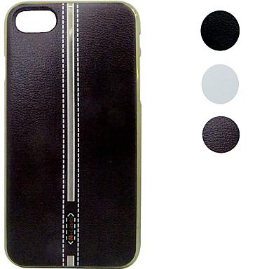 Mert iPhone 7 tok / iPhone 7 Plus tok Galvanizálás / Minta Case Hátlap Case Egyszínű Puha TPU Apple iPhone 7 Plus / iPhone 7
