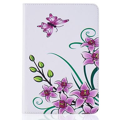 Mert Kártyatartó / Állvánnyal / Minta / Dombornyomott Case Teljes védelem Case Pillangó Kemény Műbőr Apple iPad Mini 4 / iPad Mini 3/2/1