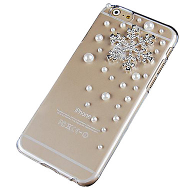 Crystal Snow Pearl Pattern Hard Back Case for iPhone 6 Plus