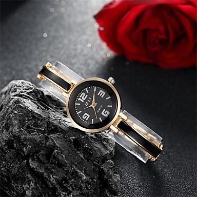 Damskie Zegarek na bransoletce Modny Na codzień Kwarcowy Wodoszczelny Stop Pasmo Urok Na co dzień Czarny Srebro Różowy