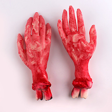 할로윈 의상 파티를 위해 1 개 깨진 손 부러진 다리