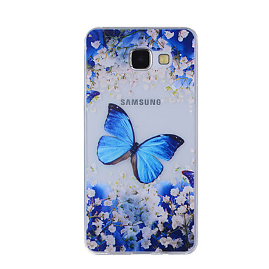 tok Για Samsung Galaxy A5(2016) A3(2016) Με σχέδια Πίσω Κάλυμμα Πεταλούδα Μαλακή TPU για A8(2016) A5(2016) A3(2016) A8 A7 A5 A3