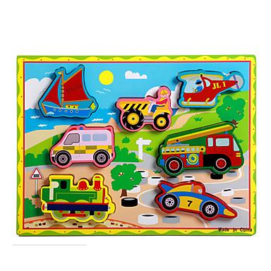 Puzzle Zabawka edukacyjna Zabawki Tren Samochód Powóz Motocykl Autobus Ciężarówka Zabawne Dla chłopców Dla dziewczynek 8 Sztuk