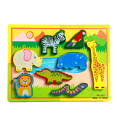 ألعاب تربوية تركيب ألعاب فيل ثور حصان جلد سحلية تمساح بدعة صبيان فتيات 8 قطع