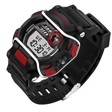 SANDA Çocuklar için Bilek Saati Akıllı İzle Asker Saat Moda Saat Spor Saat Dijital Japon Kuvartz Kronograf Su Resisdansı LED Gece