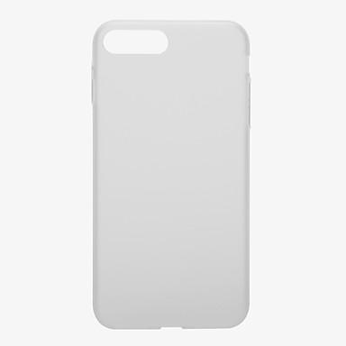 Uyumluluk Kılıflar Kapaklar Şoka Dayanıklı Buzlu Tam Kaplama Pouzdro Tek Renk Sert PC için Apple iPhone 7 Plus iPhone 7