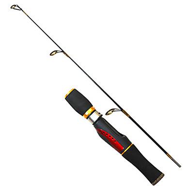 Pyörivä vapa Kalastusvapa Pilkkivapa PE FRP 0.66 M Jäällä kalastus Sauva-