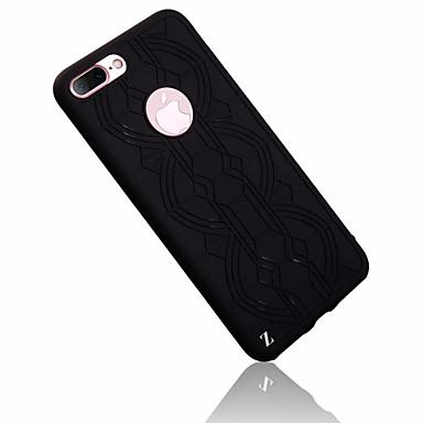 Mert Ultra-vékeny Case Hátlap Case Vonalak / hullámok Puha Szilikon mert Apple iPhone 7 Plus / iPhone 7