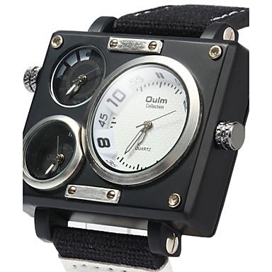 baec93197 رخيصةأون ساعات الرجال-رجالي ساعة رياضية ساعة عسكرية ساعة المعصم كوارتز أسود  / الأبيض /