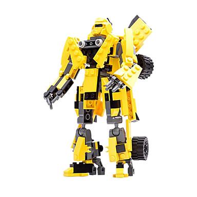 Robot Samochodziki do zabawy Figurki i zabawki pluszowe Klocki Zabawki Wojownik Samochód Maszyna Robot Transformable Dla chłopców Dla