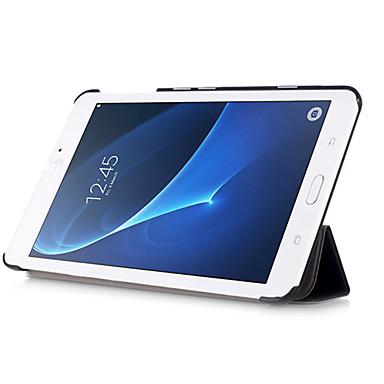 Capinha Para Samsung Galaxy Capa Proteção Completa Tablet Cases Côr Sólida Rígida PU Leather para Tab A 7.0 (2016)