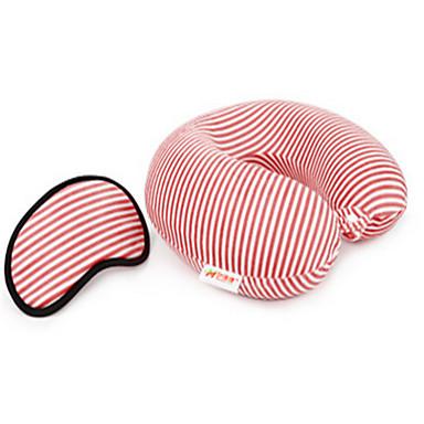 Poduszka na szyję Poduszka podróżna z pianki termoelastycznej Do biura Materiał Bawełna Stabilizacja karku Akcesoria podróżne do spania
