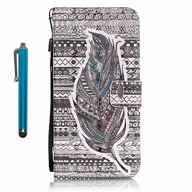 Etui Käyttötarkoitus Samsung Galaxy A5(2016) A3(2016) Korttikotelo Lomapkko Tuella Suojakuori Sulat Kova PU-nahka varten A5(2016) A3(2016)