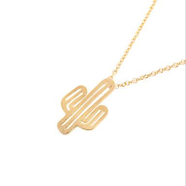 Κολιέ / Μενταγιόν Κοσμήματα Καθημερινά / Causal Κράμα Γυναικεία 1pc Δώρο Ασημί / Χρυσό Τριανταφυλλί