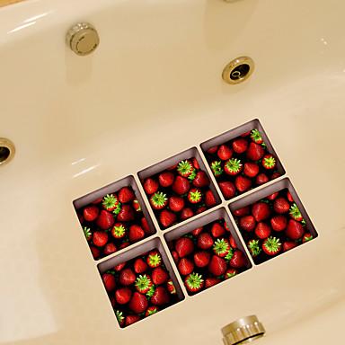 Jedzenie Naklejki Naklejki ścienne lotnicze Naklejki toaleta, Winyl Dekoracja domowa Naklejka Toaleta