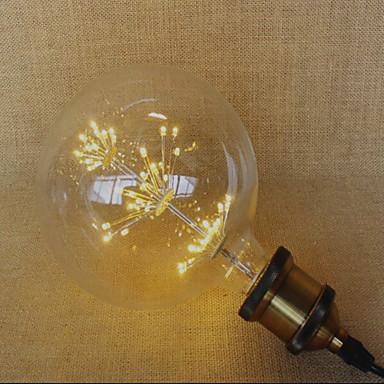 E26/E27 Żarówki LED kulki 49 Diody lED Dip LED Dekoracyjna Żółty 220lm 2300K AC 220-240V
