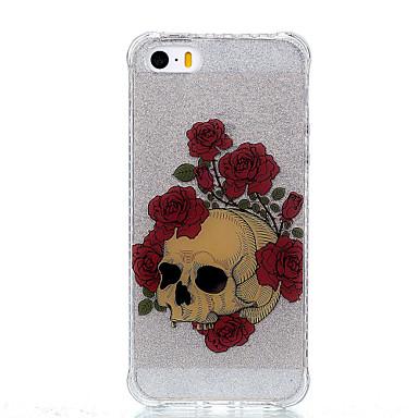 Case Kompatibilitás Apple IMD Minta Hátlap Koponya Puha TPU mert iPhone 7 Plus iPhone 7 iPhone 6s Plus iPhone 6 Plus iPhone 6s iPhone 6