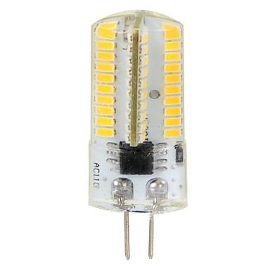 4W 350-400 lm G4 LED Mısır Işıklar T 80 led SMD 3014 Kısılabilir Dekorotif Sıcak Beyaz Serin Beyaz AC 110-130V AC 220-240V