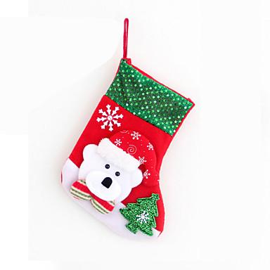 2szt Boże Narodzenie ozdoby do dekoracji stołu