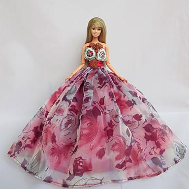Πάρτι/Απόγευμα Φορέματα Για Κούκλα Barbie Φορέματα Για Κορίτσια κούκλα παιχνιδιών