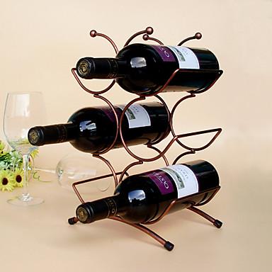 رفوف النبيذ حديد زهر, خمر إكسسوارات جودة عالية خلاقforبرواري سم 0.15 كلغ 1PC
