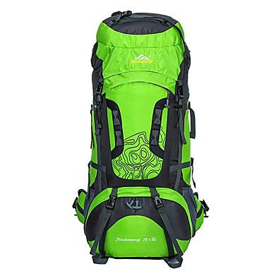 75L Sırt Çantaları / Bisiklet Sırt Çantası / sırt çantası - Su Geçirmez, Nefes Alabilir, Darbeye Dayanıklı Kamp & Yürüyüş, Tırmanma,