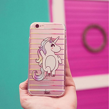 05388808 Per sottile retro iPhone Custodia 8 Fantasia iPhone 8 per disegno 8 iPhone Plus Morbido iPhone Transparente 7 iPhone iPhone Plus Ultra Unicorno Apple TPU Per X X Adwpv