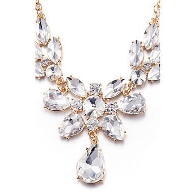 Γυναικεία Σχήμα Εξατομικευόμενο Μοναδικό Κρεμαστό κόσμημα Τεχνητό διαμάντι Euramerican Μοντέρνα Κρεμαστά Κολιέ Κολιέ Δήλωση Συνθετικό