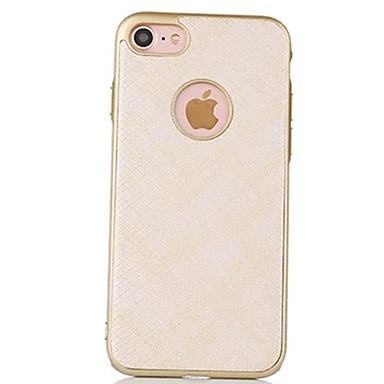 Varten Pinnoitus Etui Takakuori Etui Yksivärinen Kova PC varten Apple iPhone 7 Plus / iPhone 7 / iPhone 6s Plus/6 Plus / iPhone 6s/6