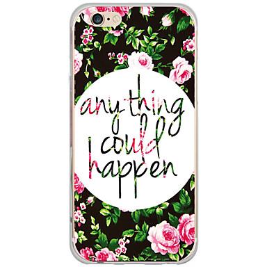 Για Θήκη iPhone 7 Θήκη iPhone 6 Θήκη iPhone 5 Θήκες Καλύμματα Με σχέδια Πίσω Κάλυμμα tok Λουλούδι Σκληρή PC για AppleiPhone 7 Plus iPhone