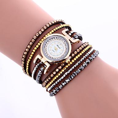 Damskie Do sukni/garnituru Modny Zegarek na nadgarstek Zegarek na bransoletce Kwarcowy Kolorowy PU PasmoPostarzane Błyszczące Słodycze