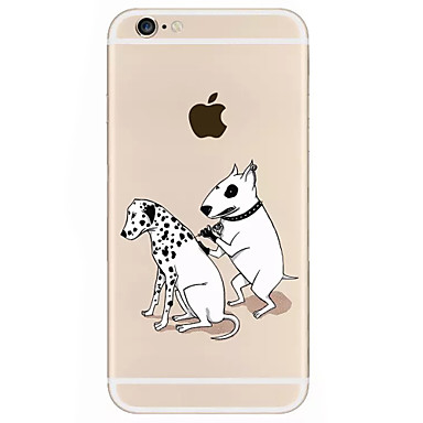 Na Etui iPhone 7 Etui iPhone 7 Plus Etui iPhone 6 Etui Pokrowce Wzór Etui na tył Kılıf Pies Twarde Akrylowy na Apple iPhone 7 Plus iPhone