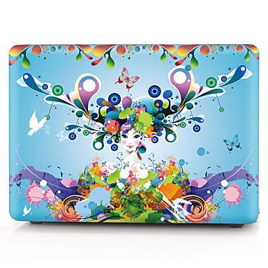 MacBook Herbst für MacBook Sexy Lady Blume Stoff