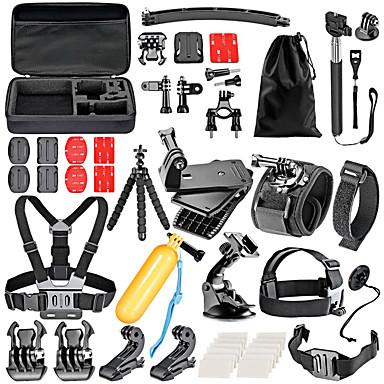 Acessório Kit Para Câmara de Acção Gopro 6 Gopro 5 Xiaomi Camera Gopro 4 Gopro 3 Gopro 2 Gopro 3+ Gopro 1 Sport DV SJCAM Esqui Acampar e