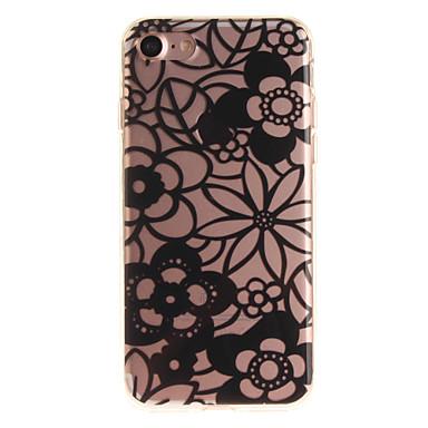 Için Kılıflar Kapaklar IMD Arka Kılıf Pouzdro Çiçek Yumuşak TPU için Apple iPhone 7 iPhone 6s iphone 6