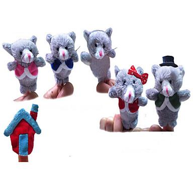 Jucării Pluș Παιχνίδια Ποντίκι Πρωτότυπες Χνουδωτό Κοριτσίστικα Αγορίστικα 6 Κομμάτια