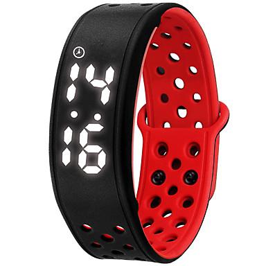 NONE Smart Bracelet Vízálló Hosszú készenléti idő Elégetett kalória Lépésszámlálók Sportok Ébresztőóra Viselhető iOS Android