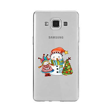Kılıf Na Samsung Galaxy A5(2016) A3(2016) Wzór Etui na tył Święta Bożego Narodzenia Miękkie TPU na A9(2016) A7(2016) A5(2016) A3(2016) A9