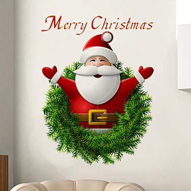 크리스마스 벽 스티커 플레인 월스티커 3D 월 스티커 데코레이티브 월 스티커 자료 이동가능 홈 장식 벽 데칼