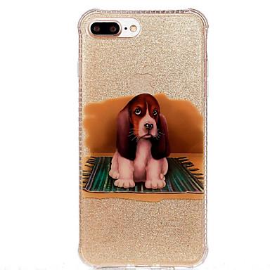 Case Kompatibilitás Apple IMD Minta Hátlap Kutya Puha TPU mert iPhone 7 Plus iPhone 7 iPhone 6s Plus iPhone 6 Plus iPhone 6s iPhone 6