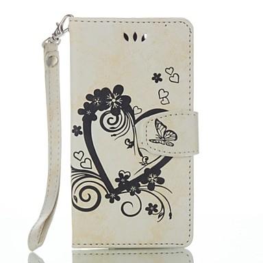 Για το wiko lenny 3 lenny 2 δερμάτινο πορτοφόλι με πλήρη καρδιά