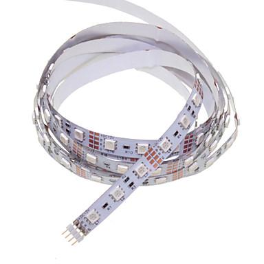 SENCART 1 M 60 5050 SMD RGB Cortável/Controlo Remoto/Regulável/Conetável/Adequado Para Veículos/Auto-Adesivo 15 WFaixas de Luzes LED
