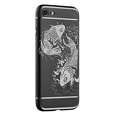 Decorazioni Per agli iPhone Per 05462311 urti Apple Custodia disegno Effetto iPhone 7 iPhone Custodia 5 Fantasia 6 Resistente ghiaccio rilievo in atdwvw