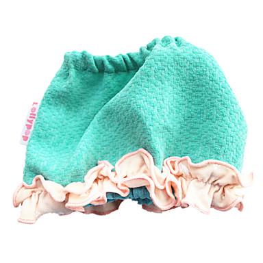 Köpek Bandanalar ve Şapkalar Köpek Giyimi Sevimli Günlük/Sade Solid Mavi Kostüm Evcil hayvanlar için